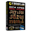 2014 KPSS Genel Yetenek Say�sal S�zel Mant�k Yediiklim Yay�nlar�