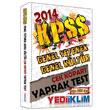 2014 KPSS Genel K�lt�r Genel Yetenek �ek Kopart Yaprak Test Yediiklim Yay�nlar�