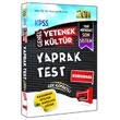 2014 KPSS Genel K�lt�r Genel Yetenek Yaprak Test Yarg� Yay�nlar�