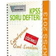 2013 KPSS Co�rafyac�n�n �zel Sorular� (��z�ml�) X Yay�nlar�