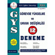 GYS ve Unvan De�i�ikli�i 12 Deneme Asil Yay�nlar�