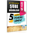 2014 GYS Milli E�itim Bakanl��� �ube M�d�rl��� 5 Deneme S�nav� M�fredat Yay�nlar�