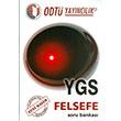 YGS Felsefe Soru Bankas� ODT� Yay�nc�l�k