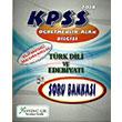 2014 KPSS �ABT T�rk Dili ve Edebiyat� ��retmenli�i Bilgi Destekli Soru Bankas� X Yay�nc�l�k