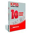2014 KPSS Genel K�lt�r Genel Yetenek 10 Deneme S�nav� S�nav Akademi Yay�nc�l�k