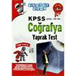 2014 KPSS Co�rafya Yaprak Test Ak�ll� Adam Yay�nlar�