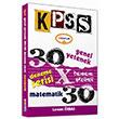2014 KPSS Matematik 30x30 Tamam� ��z�ml� Deneme Yediiklim Yay�nc�l�k