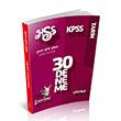 2014 KPSS HSS Tarih 30 Deneme S�nav� �htiya� Yay�nc�l�k