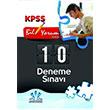 2014 KPSS 10 Deneme S�nav� Akademi Denizi Yay�nlar�