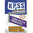 2015 KPSS �ABT T�rk Dili ve Edebiyat� Kopar�labilir Yaprak Test Yediiklim Yay�nc�l�k