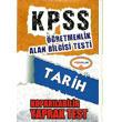 2014 KPSS �ABT Tarih Kopar�labilir Yaprak Test Yediiklim Yay�nc�l�k