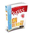 2014 KPSS Genel K�lt�r Genel Yetenek ��z�ml� Son 10 Deneme Beyaz Kalem Yay�nlar�