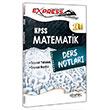 2014 KPSS Matematik Ders Notlar� Kitapse� Yay�nc�l�k
