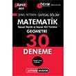2015 KPSS Matematik - Geometri 30 Deneme Say�sal B�l�m Pegem Akademi
