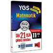 YGS Matematik Son 21 Y�l�n ��km�� Sorular� 1994 - 2014 Yarg� Yay�nlar�