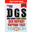 2015 DGS S�zel Yetenek Say�sal Yetenek Yaprak Test Yediiklim Yay�nlar�