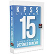 2015 KPSS Genel Yetenek 15 ��z�ml� Deneme Fem Akademi Yay�nlar�