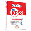 2015 KPSS �ABT T�rk Dili ve Edebiyat� ��z�ml� Soru Bankas� Yediiklim Yay�nlar�