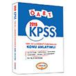2015 KPSS �ABT T�rk Dili ve Edebiyat� Konu Anlat�ml� Yediiklim Yay�nlar�