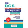 2015 DGS Say�sal Yetenek �ek kopart Yaprak Test X Yay�nlar�