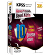 2015 KPSS Genel K�lt�r Genel Yetenek Tamam� ��z�ml� 10 Fasik�l Deneme S�nav� Kitapse� Yay�nlar�