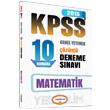 2015 KPSS Matematik ��z�ml� 10 Numara Deneme S�nav� Yediiklim Yay�nlar�
