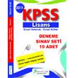 2015 KPSS Genel K�lt�r Genel Yetenek 10 Deneme S�nav� Seti X Yay�nlar�