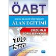2015 �ABT Sosyal Bilgiler ��retmenli�i Alan E�itimi ��z�ml� Soru Bankas� (1000 Soru) Nobel Yay�nlar�