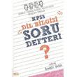 KPSS Dilbilgisi Soru Defteri S�re Yay�nlar�