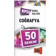 2012 KPSS Genel K�lt�r Co�rafya 50 Deneme Yarg� Yay�nlar�