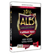 2016 ALES S�zel ve Say�sal Yetenek Yaprak Test Yarg� Yay�nlar�