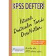 2014 KPSS Defteri �ktisadi Doktrinler Tarihi Ders Notlar� X Yay�nlar�