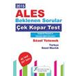 2015 ALES S�zel Yetenek �ek kopart Yaprak Test X Yay�nlar�