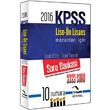 2016 KPSS Lise �nlisans 3333 Soru Bankas� Kitapse� Yay�nlar�