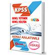 2016 KPSS Genel Kültür Genel Yetenek Konu Anlatımlı Dahi Adam Yayınları