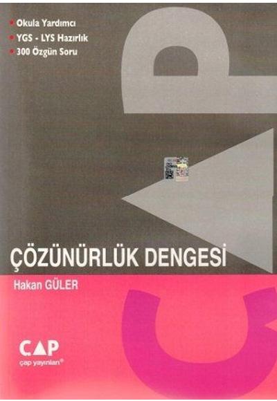 YGS-LYS Çözünürlük Dengesi Çap Yayınları | 9786055140700