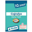 10.S�n�f Co�rafya Koparmal� Konu Testi Akday Yay�nlar�