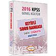2016 KPSS Genel Kültür Keyifli Soru Bankası Yediiklim Yayınları