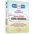 2016 ÖABT Türkçe Öğretmenliği Tamamı Çözümlü Soru Bankası Yediiklim Yayınları