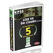 2016 KPSS Lise ve �nlisans Tamam� ��z�ml� 5 Deneme S�nav� Data Yay�nlar�