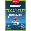 6. S�n�f Fen ve Teknoloji Tekno Test ��z�m DVD`li K�rfez Yay�nlar�