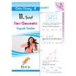 11. Sınıf İleri Geometri Yaprak Testler Orta Düzey B Birey Yayınları