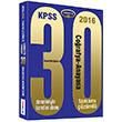 2016 KPSS Coğrafya Anayasa Tamamı Çözümlü 30 Deneme Yediiklim Yayınları