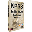 2016 KPSS Tarihin Rotası Soru Bankası Kariyer Meslek Yayınları