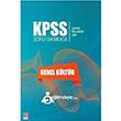 2016 KPSS Lisans Ön Lisans Lise Genel Kültür Soru Bankası Ekin Yayınları