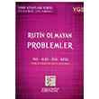 YGS Rutin Olmayan Problemler Soru Bankası Karekök Yayınları