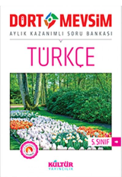 5 Sınıf Dört Mevsim Türkçe Soru Bankası Kültür Yayıncılık