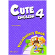 Cute English 4 Vocabulary Book Kelime Kitabı Birkent Yayınları