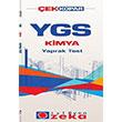 YGS Kimya Çek Kopart Yaprak Test İşleyen Zeka Yayınları