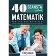 YGS 40 Seansta Kolay Matematik Konu Anlatımlı Soru Bankası Okyanus Yayınları